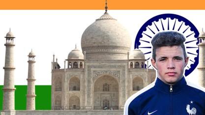 Alan Kerouedan en Inde